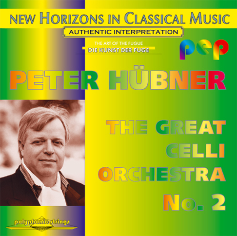 Peter Hübner - The Great Celli Orchestra - Celli Orchestra No. 2