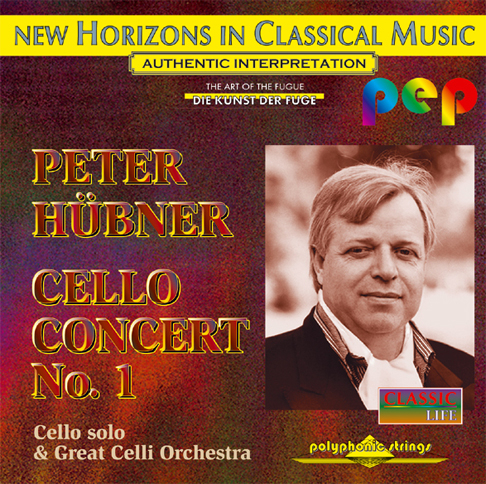 Peter Hübner - Cello Concert - No. 1