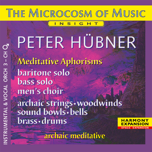 Peter Hübner - The Microcosm of Music - Male Choir No. 3
