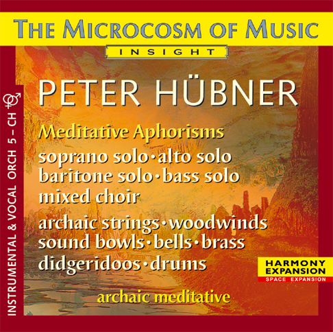 Peter Hübner - The Microcosm of Music - Mixed Choir No. 5