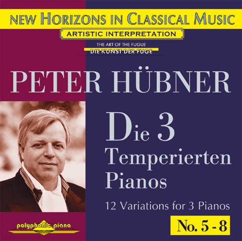 Peter Hübner - The 3 Temp. Pianos - Var. 5 – 8