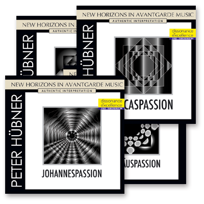 Peter Hübner - Johannes- · Lucas- · Matthaeus- and Marcuspassion · 4 CDs