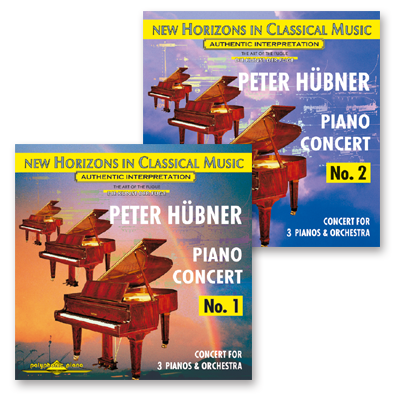 Peter Hübner - No. 1 & No. 2 · 2 CDs