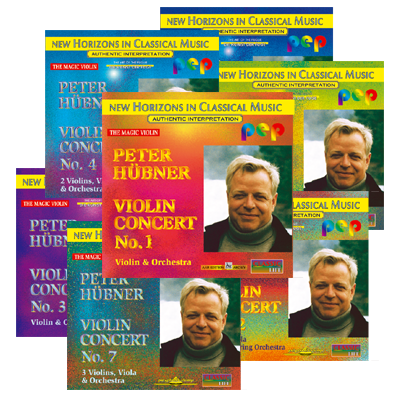 Peter Hübner - No. 1 – No. 7 · 7 CDs