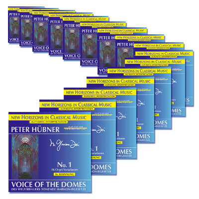 Peter Hübner - 1st Meditation – 16th Meditation · 16 CDs