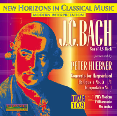 Peter H&uuml;bner - Peter H&uuml;bner<br>presents J.C. Bach - No. 1