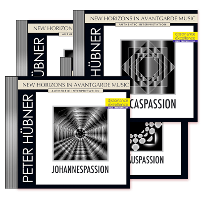 Peter Hübner - Passions - Johannes- · Lucas- · Matthaeus- and Marcuspassion · 4 CDs