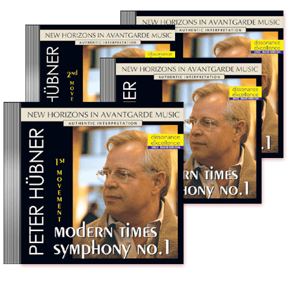 Peter Hübner - Modern Times Symphony No. 1 - 1st – 4th Movement    4 CDs