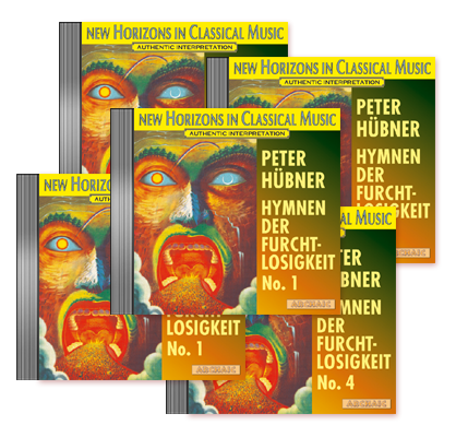 Peter Hübner - Hymns of Fearlessness - No. 1 – No. 5 · 5 CDs