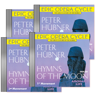 Peter Hübner - Hymns of the Moon - 1st – 4th Movement     4 CDs