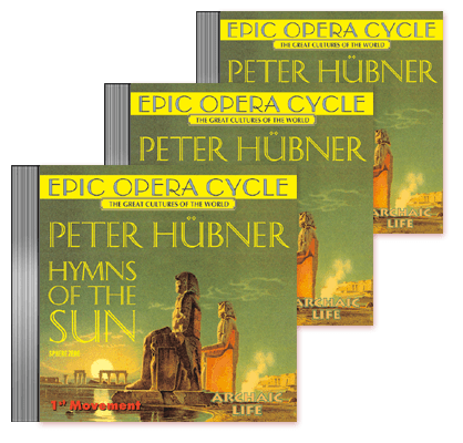 Peter Hübner - Hymns of the Sun - 1st – 3rd Movement    3 CDs