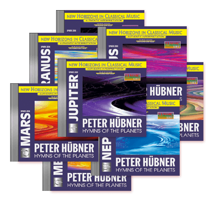 Peter Hübner - Hymns of the Planets - 8 CDs