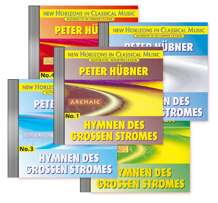 Peter Hübner - Hymns of the Great Stream - No. 1 – No. 5 · 5 CDs