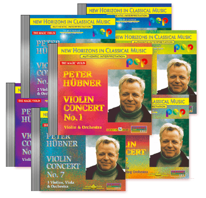 Peter Hübner - Violin Concert - No. 1 – No. 7 · 7 CDs