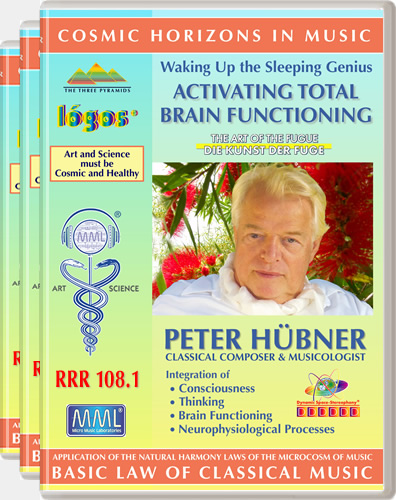 Peter H&uuml;bner - Waking Up the Sleeping Genius<br>RRR 108 No. 1-3
