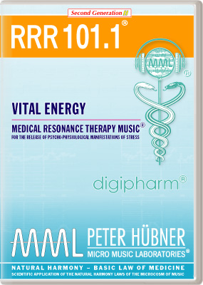 Peter Huebner - Medical Resonance Therapy Music(R) RRR 101 Vital Energy • Nr. 1