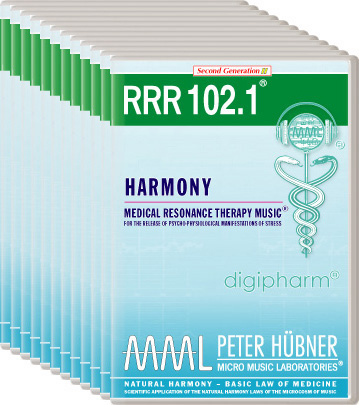 Peter Hübner - Medical Resonance Therapy Music(R) RRR 102 Harmony • Nr. 1-12