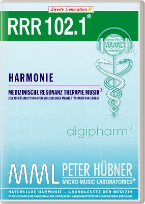 Peter Hübner - Medizinische Resonanz Therapie Musik(R) RRR 102 Harmonie • Nr.1