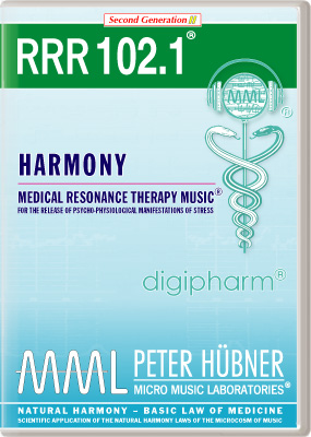 Peter Huebner - Medical Resonance Therapy Music(R) RRR 102 Harmony • Nr. 1