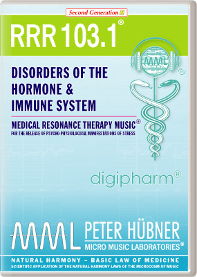 Peter Huebner - Medical Resonance Therapy Music(R) RRR 103 Disorders of the Hormone & Immune System • Nr. 1