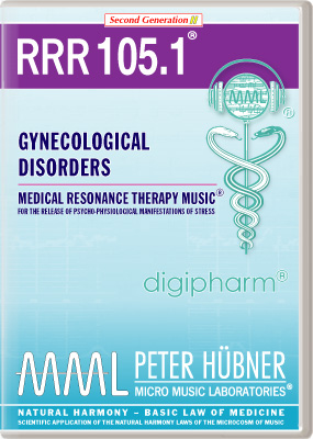 Peter Hübner - Medical Resonance Therapy Music(R) RRR 105 Gynecological Disorders • Nr. 1