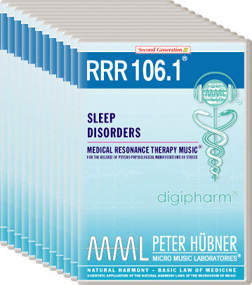 Peter Hübner - Medical Resonance Therapy Music(R) RRR 106 Sleep Disorders • Nr. 1-12