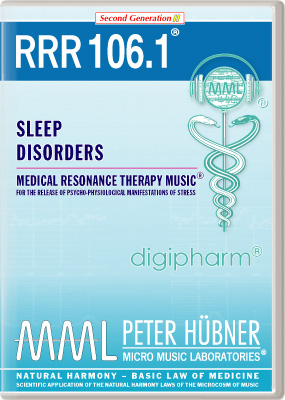 Peter Huebner - Medical Resonance Therapy Music(R) RRR 106 Sleep Disorders • Nr. 1