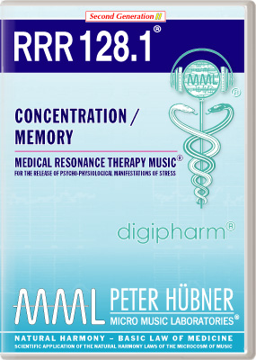 Peter Huebner - Medical Resonance Therapy Music(R) RRR 128 Concentration / Memory • Nr. 1