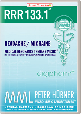 Peter Hübner - Medical Resonance Therapy Music(R) RRR 133 Headache / Migraine • Nr. 1