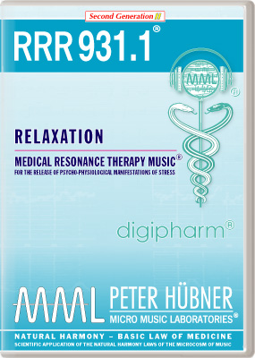 Peter Hübner - Medical Resonance Therapy Music(R) RRR 931 Relaxation • Nr. 1