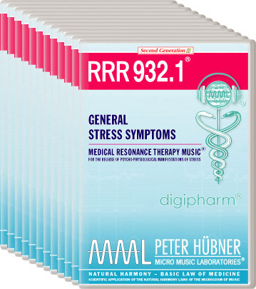 Peter Hübner - Medical Resonance Therapy Music(R) RRR 932 General Stress Symptoms • Nr. 1-12