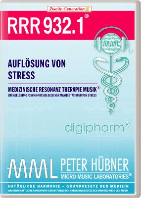 Peter Hübner - Medizinische Resonanz Therapie Musik(R) RRR 932 Auflösung von Stress • Nr.1