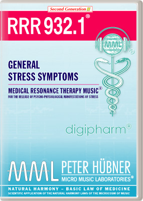 Peter Huebner - Medical Resonance Therapy Music(R) RRR 932 General Stress Symptoms • Nr. 1