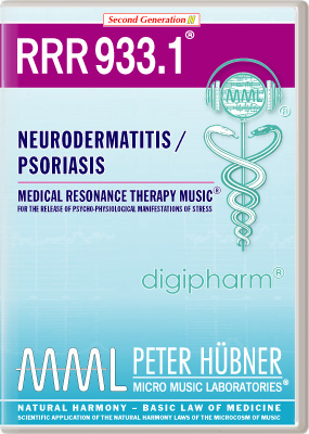 Peter Huebner - Medical Resonance Therapy Music(R) RRR 933 Neurodermatitis / Psoriasis • Nr. 1