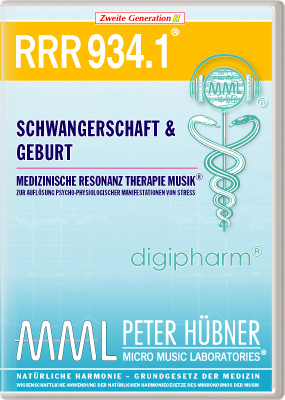 Peter Hübner - Medizinische Resonanz Therapie Musik(R) RRR 934 Schwangerschaft & Geburt • Nr.1