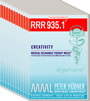 Peter Hübner - Medical Resonance Therapy Music(R) RRR 935 Creativity • Nr. 1-12