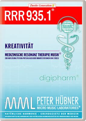 Peter Hübner - Medizinische Resonanz Therapie Musik(R) RRR 935 Kreativität • Nr.1