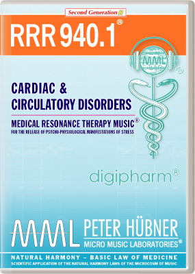 Peter Huebner - Medical Resonance Therapy Music(R) RRR 940 Cardiac & Circulatory Disorders • Nr. 1
