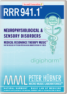 Peter Huebner - Medical Resonance Therapy Music(R) RRR 941 Neurophysiological & Sensory Disorders • Nr. 1