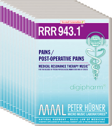 Peter Hübner - Medical Resonance Therapy Music(R) RRR 943 Pains / Post-Operative Pains • Nr. 1-12
