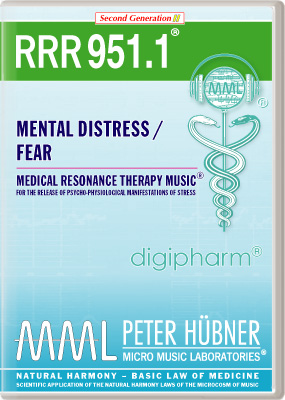 Peter Huebner - Medical Resonance Therapy Music(R) RRR 951 Mental Distress / Fear • Nr. 1