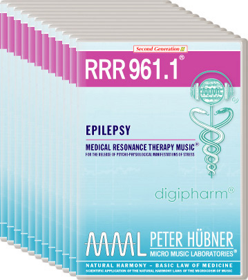 Peter Hübner - Medical Resonance Therapy Music(R) RRR 961 Epilepsy • Nr. 1-12