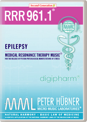 Peter Huebner - Medical Resonance Therapy Music(R) RRR 961 Epilepsy • Nr. 1