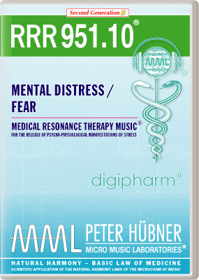 Peter Hübner - RRR 951 Mental Distress / Fear Nr. 10