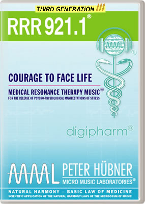 Peter Hübner - RRR 921 Courage to Face Life • No. 1