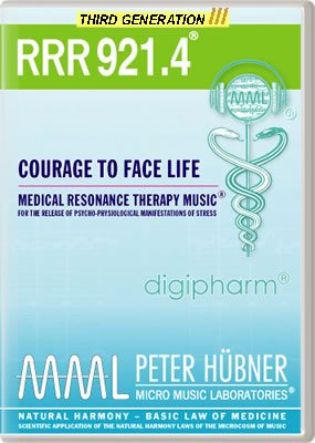 Peter Hübner - RRR 921 Courage to Face Life • No. 4