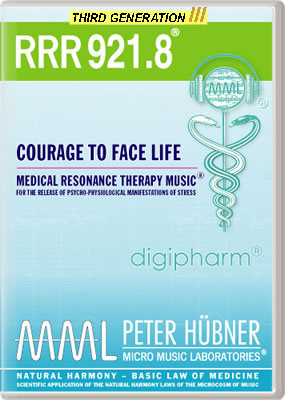 Peter Hübner - RRR 921 Courage to Face Life • No. 8