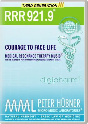 Peter Hübner - RRR 921 Courage to Face Life • No. 9