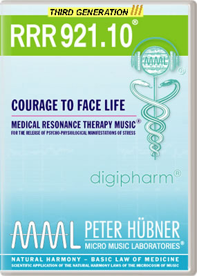 Peter Hübner - RRR 921 Courage to Face Life • No. 10