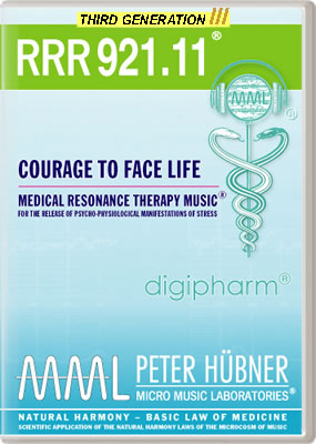 Peter Hübner - RRR 921 Courage to Face Life • No. 11